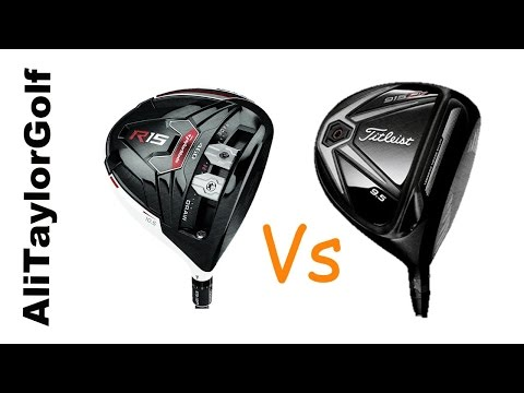 TOP DRIVERS 2015: TAYLORMADE R15 v TITLEIST 915 D3