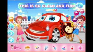 Hey, kids! Time to wash a really cute car today! This car is specially made for the little ones and it looks really really cute! But it needs to be cleaned up, because it looks really dirty. You have all the needed tools and products for that, just follow the instructions in the game to know when and how to use each of them. After the car is clean, decorate it the way you like and save a picture with your creation! Enjoy! http://www.gahe.com/Kids-Car-Wash
