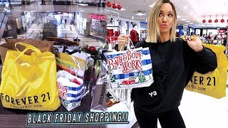 black friday shopping adventures... it was lit by Alisha Marie Vlogs