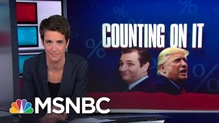 'Zombie Race' For Ted Cruz If Indiana Goes For Donald Trump | Rachel Maddow | MSNBC
