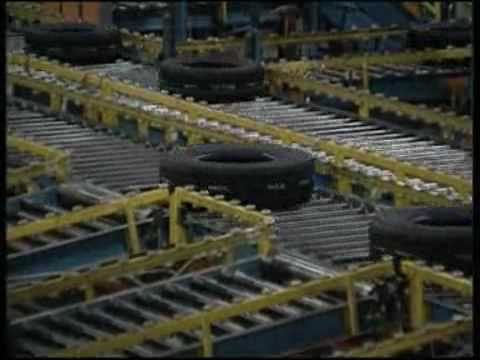 Bridgestone - Tyre Production from Rubber to tyres