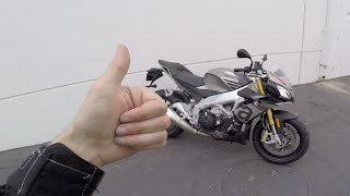 8. MC Commute - Aprilia Tuono 1100 RR