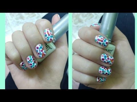 Modelos de uñas - Diseño para uñas cortas.