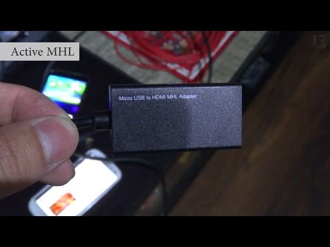 MHL Adapters & HDMI Screen Mirroring Explained: Passive, Active, Samsung's 11-pin, DVI