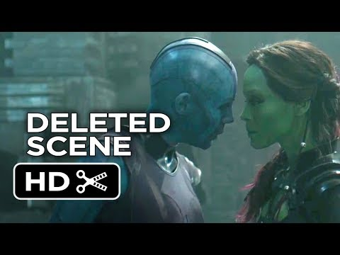 GUARDIANS OF GALAXY PART 1 NEVER SEEN BEFORE DELETED SCENES