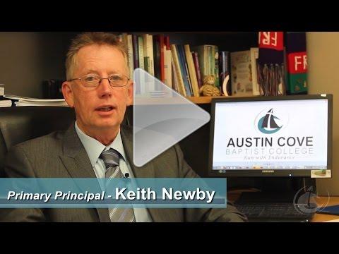 Primary Principal Keith Newby