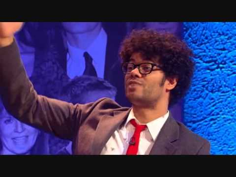 "Richard Ayoade answers the question ""How are you?"""