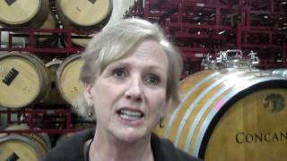 Tasting Fortress Vineyards 2007 Petite Sirah with Barbara Snider