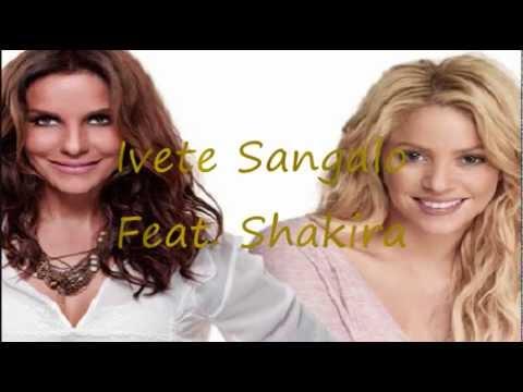 Tekst piosenki Shakira - Dançando  ft. Ivete Sangalo po polsku