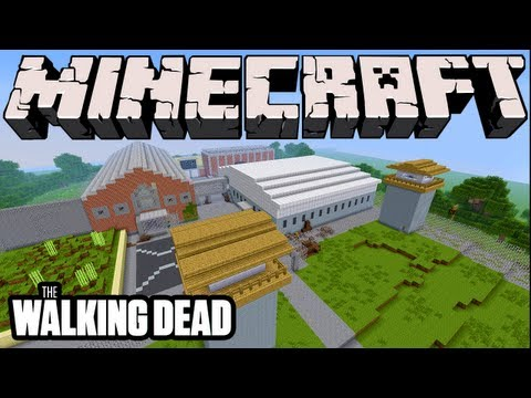Minecraft - The Walking Dead Prison