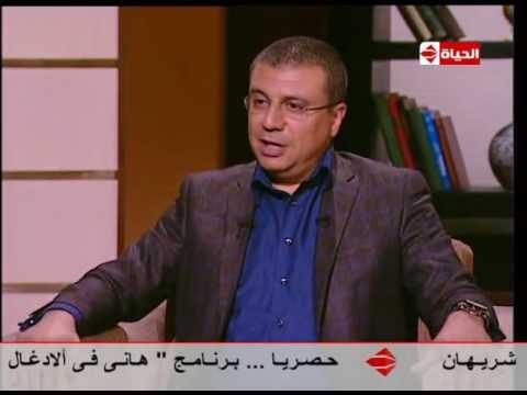 """محمود عزب يقلد ريهام سعيد والإبراشي في """"بوضوح"""""""