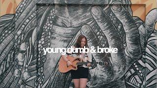 Young Dumb & Broke - Khalid (cover)   Reneé Dominique