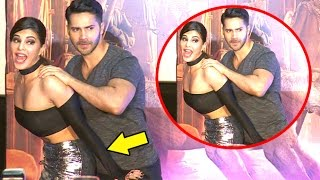 Nonton Jacqueline Gets Naughty With Varun Dhawan At Dishoom Trailer Launch Film Subtitle Indonesia Streaming Movie Download