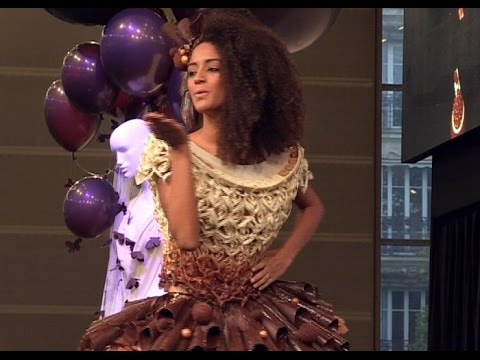 Top Billing gets a taste of chocolate fashion in France