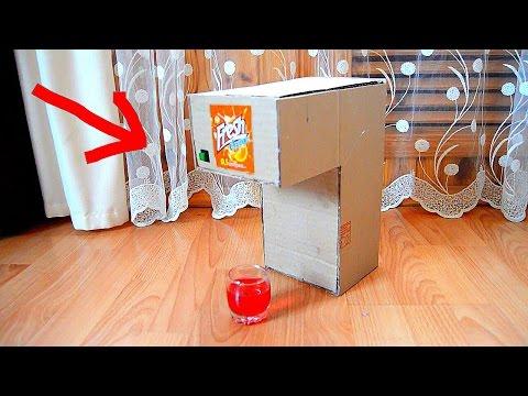 Как сделать автомат для напитков