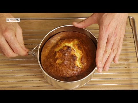 EL COMIDISTA  Cocina para lerdos: las leyes del bizcocho
