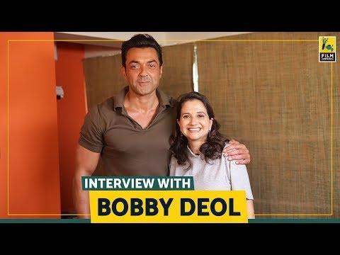 Interview with Bobby Deol   Race 3   Anupama Chopra   Film Companion