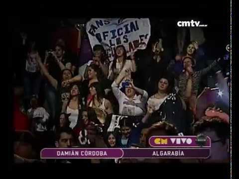 Damián Córdoba video Algarabía - CM Vivo 2014