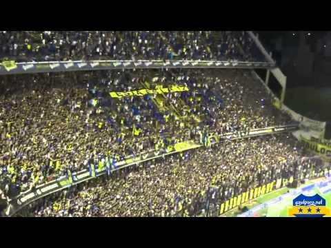 Boca Juniors - boca de mi vida - final del partido vs estudiantes final 2014 - Azulyoro.net