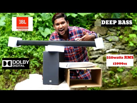NEW JBL CINEMA SB261 SOUNDBAR | UNBOXING/REVIEW | WIRELESS SUBWOOFER WITH DOLBY AUDIO