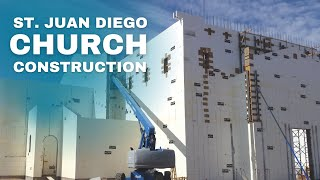 ICF Specialist take you on site of Building  St Juan Diego in Chandler Arizona. ICF Specialist show you how building with Insulated Concrete Forms  (ICFs) can save you money and time. Go to http://www.icfspecialist.com/ to learn more and contact ICF Specialist to build your next project