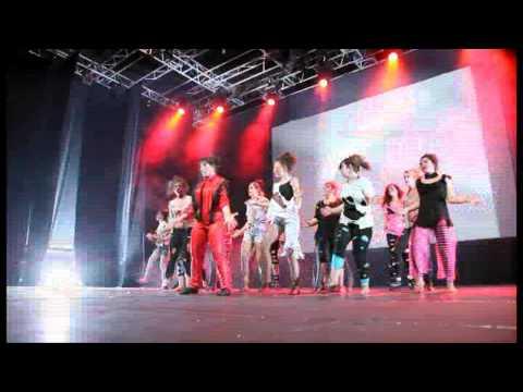 Spectacle LEGEND Danse & Co 2013 au Palais des Congrès de Parthenay
