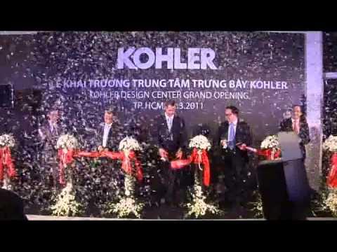 KHAI TRƯƠNG KOHLER DESIGN CENTER TẠI TP.HCM NGÀY 12.3.2011