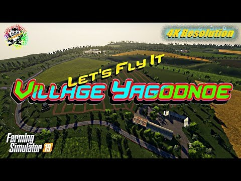 FS19 Yagodnoe Map v2.4.7