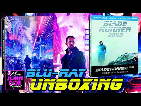 Blade Runner 2049 - Steelbook -BLU-RAY - ULTRA HD - 4K - 3D - Unboxing Live - Denis Villeneuve