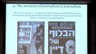 Annenberg Research Seminar - Oren Meyers, University Of Haifa