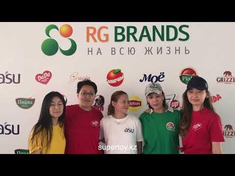 Организация тимбилдинга RG Brands - Июнь 2018