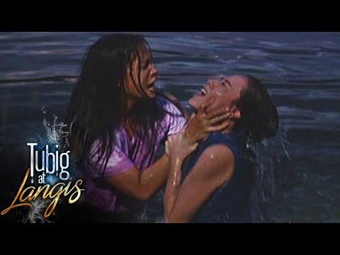 Tubig at Langis: Clara drowns Irene