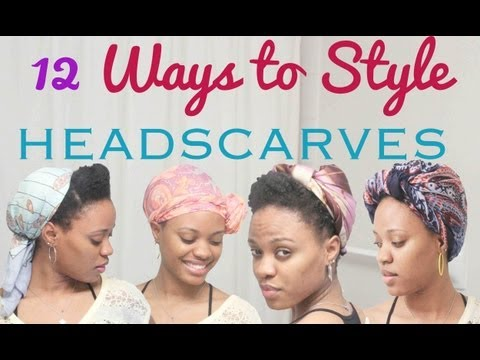 [*125*] 12 Ways to Style a Head Scarf
