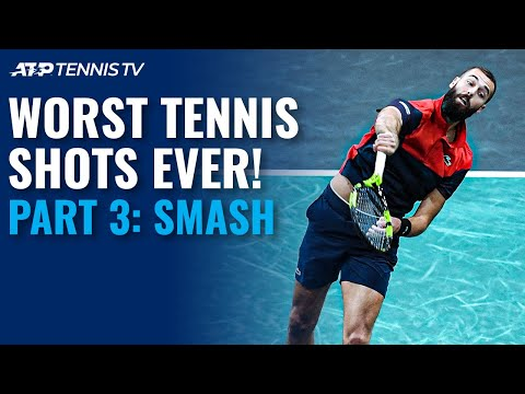 Worst Tennis Shots Ever Part 3: Overhead Smashes!