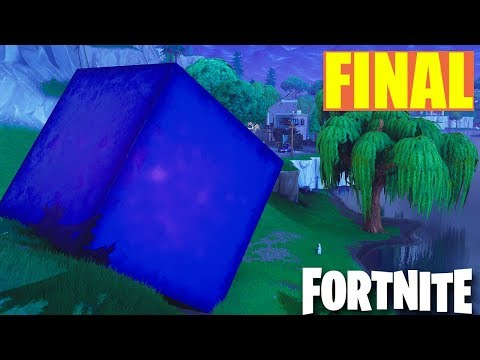 EL FINAL DEL CUBO EN DIRECTO!! EL CUBO EXPLOTA HOY! Fortnite: Battle Royale