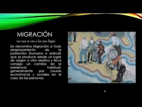 ¿Que es Migracion? - Definción, Tipos y Conceptos Básicos