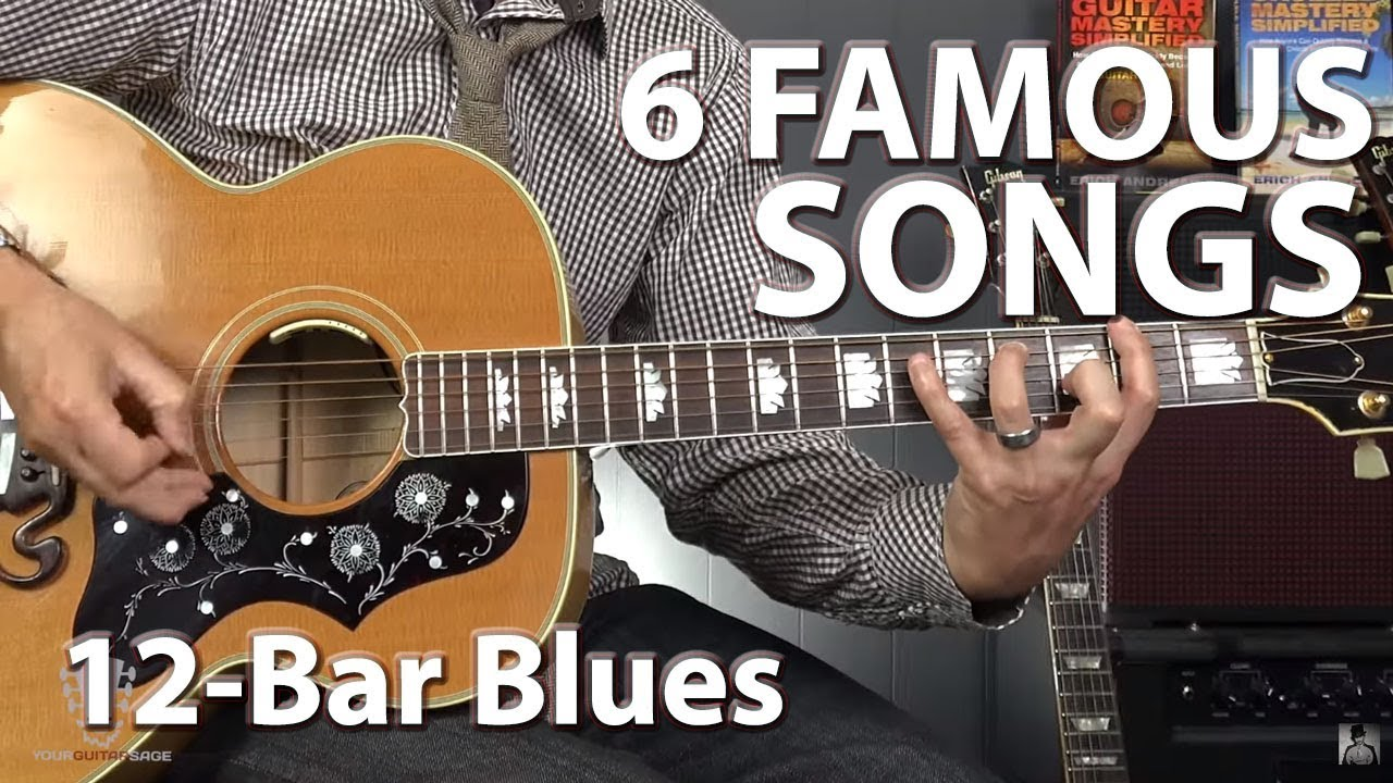 6 Famous Songs Built on the 12-Bar Blues Progression – Guitar Lesson