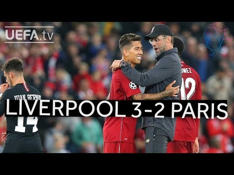 LIVERPOOL 3-2 PARIS #UCL HIGHLIGHTS