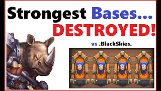 How to take down the STRONGEST Bases in the game! Guild Wars against .BlackSkies., Majestik, DragonSlayer, SunPirates.