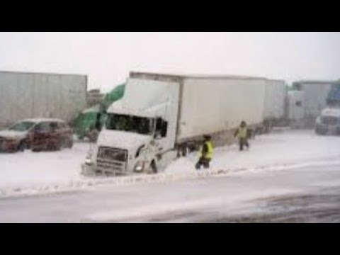 THIS IS WHY I-80 IN WYOMING IS SO DEADLY FOR TRUCK DRIVERS ( THE CRASH ZONE )