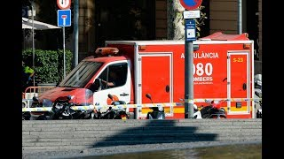 A van crashed into dozens of people in Barcelona's historic Las Ramblas district on Thursday. Several people were injured, at least one person is dead. To read more: http://cbc.ca/1.4251171»»» Subscribe to CBC News to watch more videos: http://bit.ly/1RreYWSConnect with CBC News Online:For breaking news, video, audio and in-depth coverage: http://bit.ly/1Z0m6iXFind CBC News on Facebook: http://bit.ly/1WjG36mFollow CBC News on Twitter: http://bit.ly/1sA5P9HFor breaking news on Twitter: http://bit.ly/1WjDyksFollow CBC News on Instagram: http://bit.ly/1Z0iE7ODownload the CBC News app for iOS: http://apple.co/25mpsUzDownload the CBC News app for Android: http://bit.ly/1XxuozZ»»»»»»»»»»»»»»»»»»For more than 75 years, CBC News has been the source Canadians turn to, to keep them informed about their communities, their country and their world. Through regional and national programming on multiple platforms, including CBC Television, CBC News Network, CBC Radio, CBCNews.ca, mobile and on-demand, CBC News and its internationally recognized team of award-winning journalists deliver the breaking stories, the issues, the analyses and the personalities that matter to Canadians.