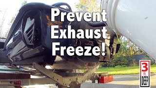 4. How To: Antifreeze Exhaust Flush for Sea-Doo