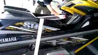 9. Yamaha  FZR SHO 400HP+