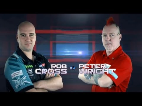 2018 Shanghai Darts Masters Semi Final Cross Vs Wright
