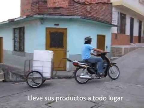 Mini Remolque - Remolques y furgones para moto - Motoremolques