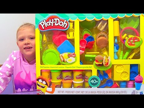 Huge Play Doh Chef Supreme Kitchen Set