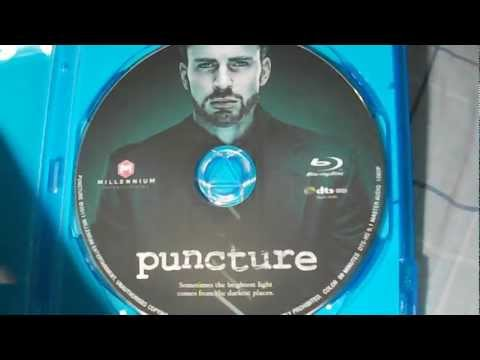 Puncture Starring Chris Evans Bluray (Quick) Unboxing