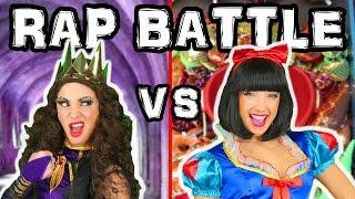 Princess Rap Battle Snow White vs Queen Family Friendly Music Video. Disney Toys Fan.Totally TV