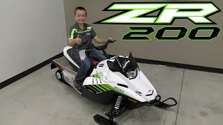 8. Country Cat - 2018 Arctic Cat ZR 200