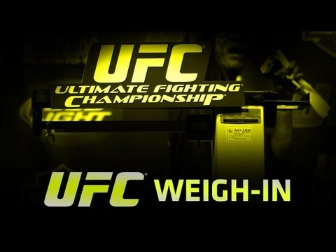 ON - Watch the UFC on FX 8: Belfort vs Rockhold Weigh-in live from Brazil.